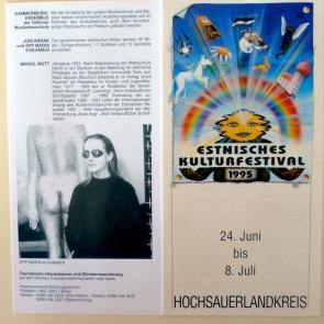 Eesti Kultuurifestival Saksamaal 1995