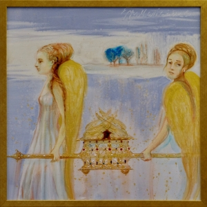 Angels with ark